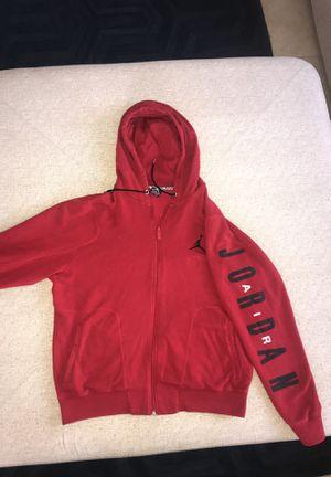 Red Air Jordan Zip up hoodie / jacket for Sale in Chandler, AZ