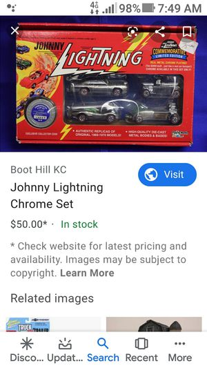 Collectible johnny lightening car set for Sale in Hacienda Heights, CA