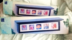 NEW Black display shelf with photo slots $6 each for Sale in Diamond Bar, CA