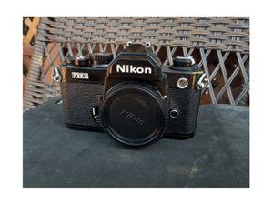 Nikon FM2N Black Film Camera for Sale in Topanga, CA