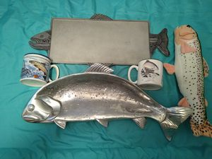 Fishing plates lot for Sale in Waterbury, CT
