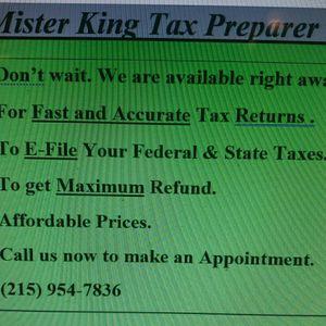 Tax Preparer for Sale in Philadelphia, PA