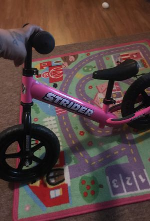 Girls strider balance bike for toddlers for Sale in Baltimore, MD