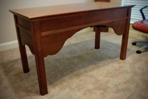Solid wooden desk: MUST GO! for Sale in Fort Worth, TX