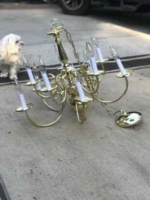 Chandelier brass for Sale in Atlanta, GA