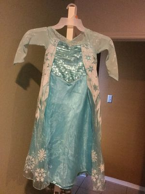 Elsa Costume size 6 for Sale in Manor, TX