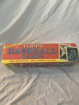 1988 Topps complete baseball card set sealed. for Sale in Cumming, GA