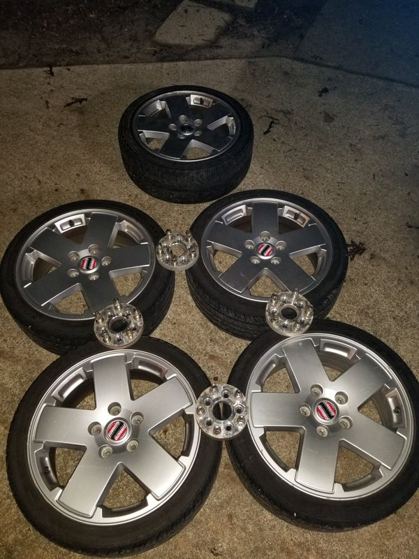 Jeep wheels And 5x100 wheel Adapters