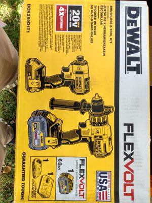 DeWalt Flexvolt drill kit OBO for Sale in Salt Lake City, UT