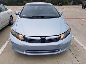 2012 honda civic ex, 150k miles for Sale in Richardson, TX
