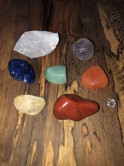 Crystal Set For Chakra Alignment ~Cleansed & Activated~ for Sale in Houston,  TX