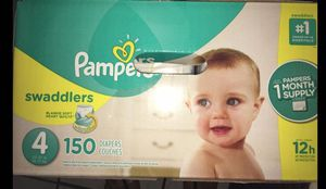 Pampers diapers size 4 Swaddlers for Sale in Downey, CA
