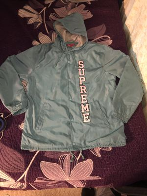 Supreme vertical logo jacket for Sale in Newton, MA