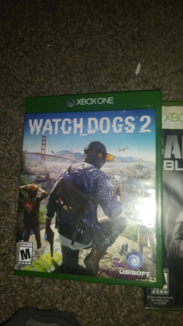 Watchdogs2 xbox one