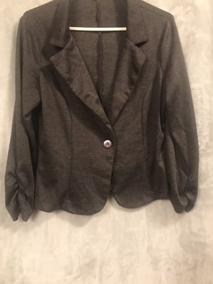 Large gray color cardigan for Sale in Wasco, CA