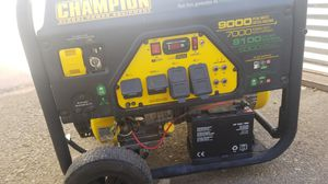 Champion 9000W Dual Fuel Generator for Sale in Moreno Valley, CA