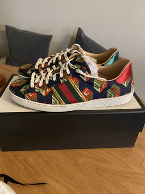 Men's Gucci Sneakers US 10.5 (fits 11-11.5) for Sale in Pasadena, CA