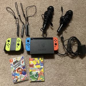 Nintendo Switch + Joycon Mario Party for Sale in San Diego, CA