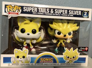 Funko sdcc shared súper tails & silver for Sale in Westminster, CA