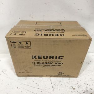 NEW Keurig K-Classic K50 Black coffee maker for Sale in Fresno, CA