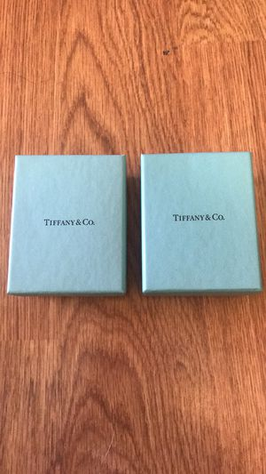 Tiffany &Co. Jewelry Boxes Only for Sale in Napa, CA