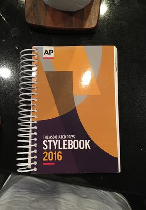 Stylebook textbook 2016 for Sale in Tempe, AZ