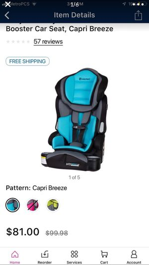 3 in 1 booster car seat still have 1 pink for Sale in Las Vegas, NV