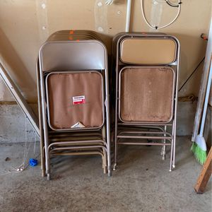 12 folding chairs for Sale in Happy Valley, OR