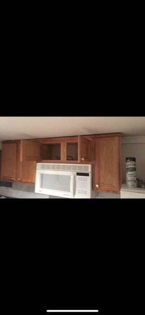 Cabinets and microwave for Sale in Adelphi, MD