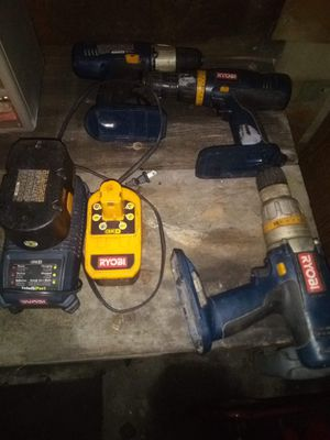 Ryobi power tools for Sale in Mahanoy City, PA