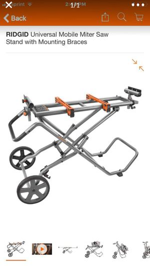 Miter saw stand for Sale in Pomona, CA