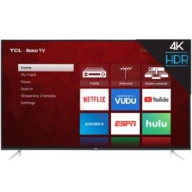 "TCL Smart 55"" TV with Roku for Sale in Rialto, CA"