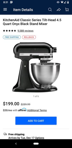 KitchenAid mixer for Sale in St. Cloud, MN