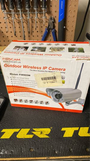 Foscam outdoor wireless IP camera for Sale in Spring Valley, CA