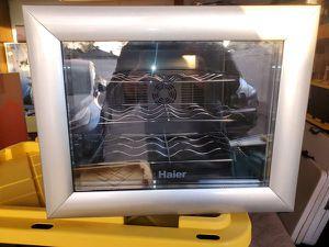 Haier Wine Refrigerator Cooler 12 bottles for Sale in Montclair, CA