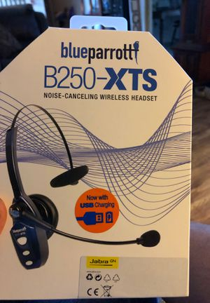 Blue Parrott B250-XTS Bluetooth Headset for Sale in Conroe, TX