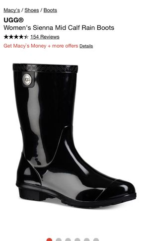 Women's UGG Rain Boots Size 11 for Sale in San Martin, CA