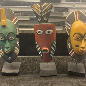 Authentic African Masks For Sale for Sale in Tacoma, WA