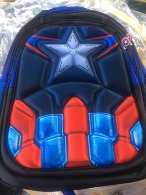 Captain America backpack superhero for Sale in Cooper City, FL