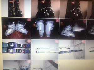 Skis , ski boots etc more details pending for Sale in La Mesa, CA