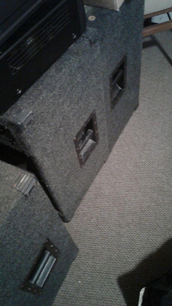 Gemini Rhino pro series...Dj speakers. I have 3.