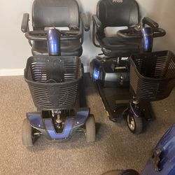 Mobility scooter go go for real and go go three wheel for Sale in Orlando,  FL