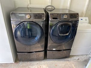 Samsung washer and dryer with drawers for Sale in Pompano Beach, FL