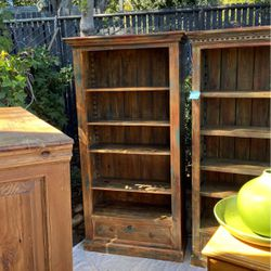 Mexican-style Distressed Bookshelves for Sale in Los Angeles,  CA