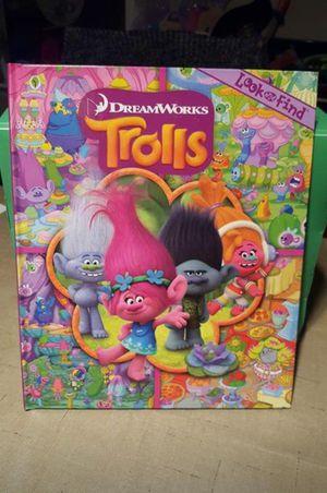 Trolls Look & Find Book and Trolls Puzzle Book for Sale in Virginia Beach, VA