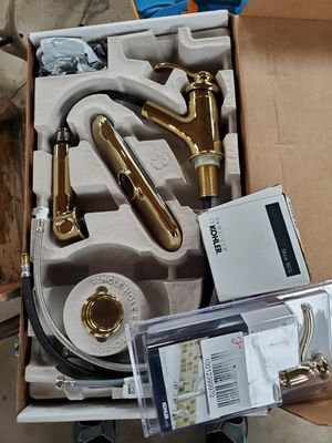 Kohler Kitchen Faucet Brass for Sale in Westfield, NJ