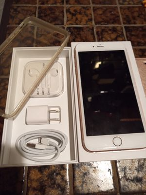 iPhone 6S plus Sprint unlocked AT&T/T-Mobile with Box and accessories for Sale in Redmond, WA