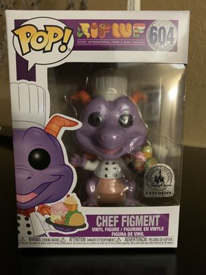 Chef figment funko pop Disney world exclusive for Sale in San Diego, CA