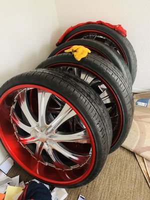 30s 30 rims 30 inches for Sale in Carrollton, TX