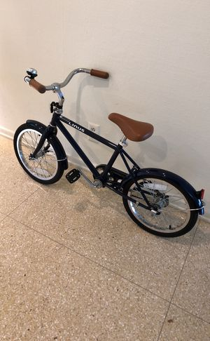 Kids LINuS Bike (navy with Leather trims) for Sale in Los Angeles, CA